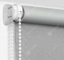 Рулонные шторы Мини - Респект блэкаут светло-серый