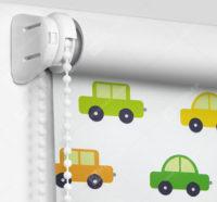 Рулонные шторы Мини - Машинки Блэкаут