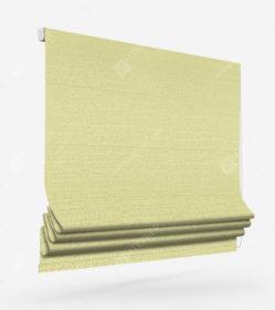 Римские шторы Флэкси желтый